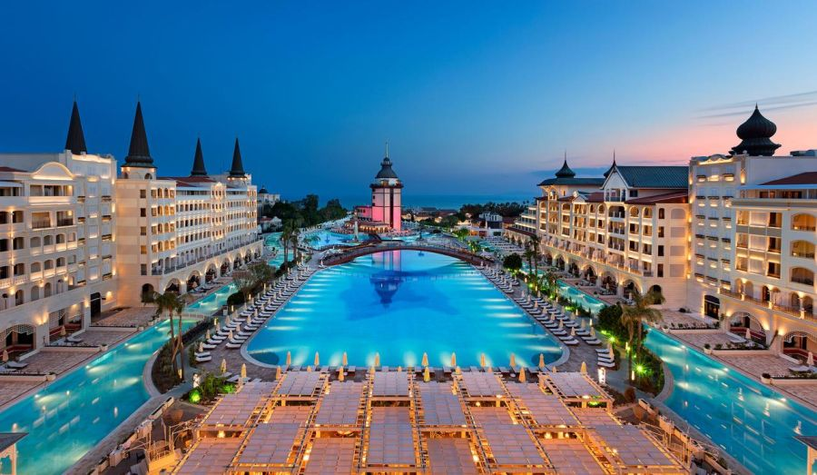 Titanic Mardan Palace Turkey overview
