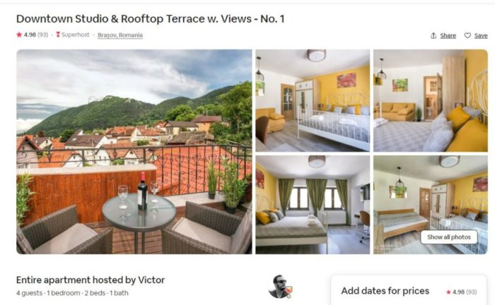 Photos for great AirBnb Listing
