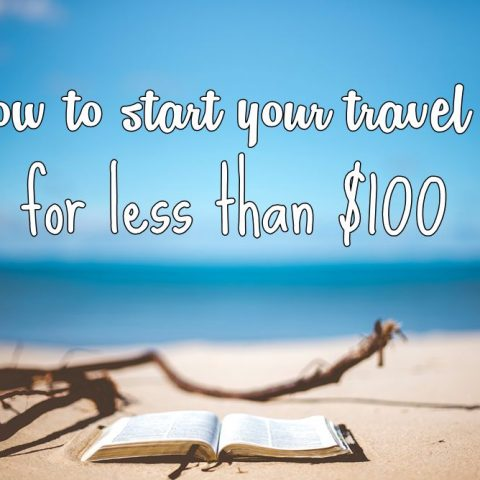 How to Start a Travel Blog for less than $100