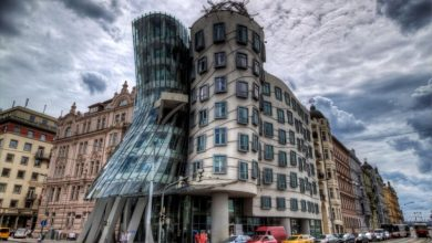 Photo of Best View in Prague, Czech Republic: the Dancing House