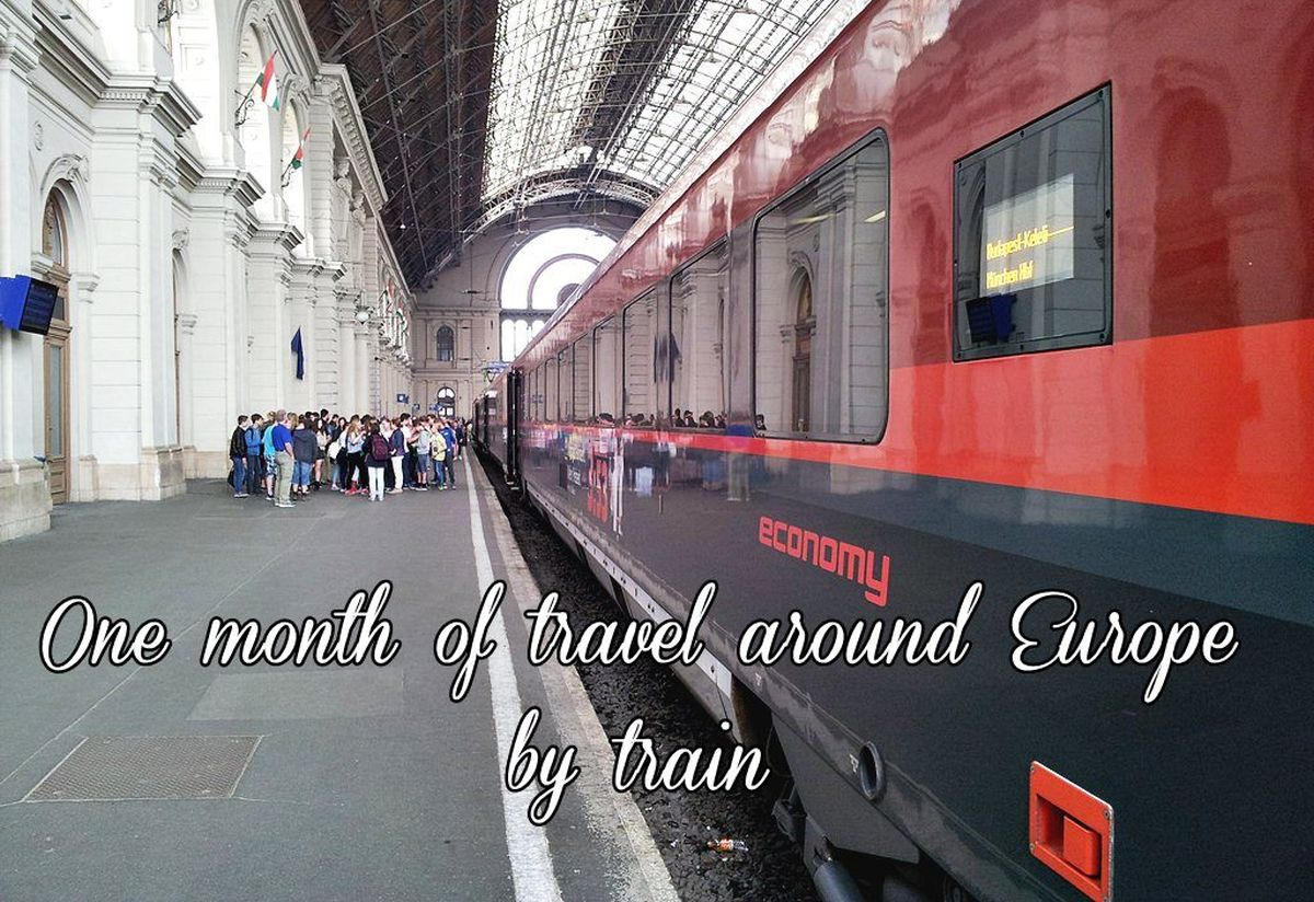 One month in Europe
