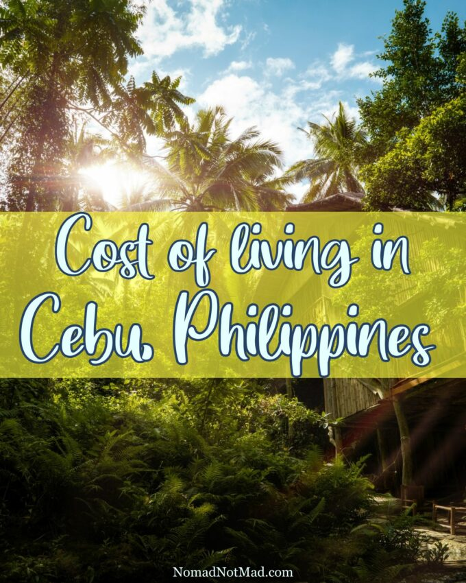 Real Cost of Living in Cebu - PIN